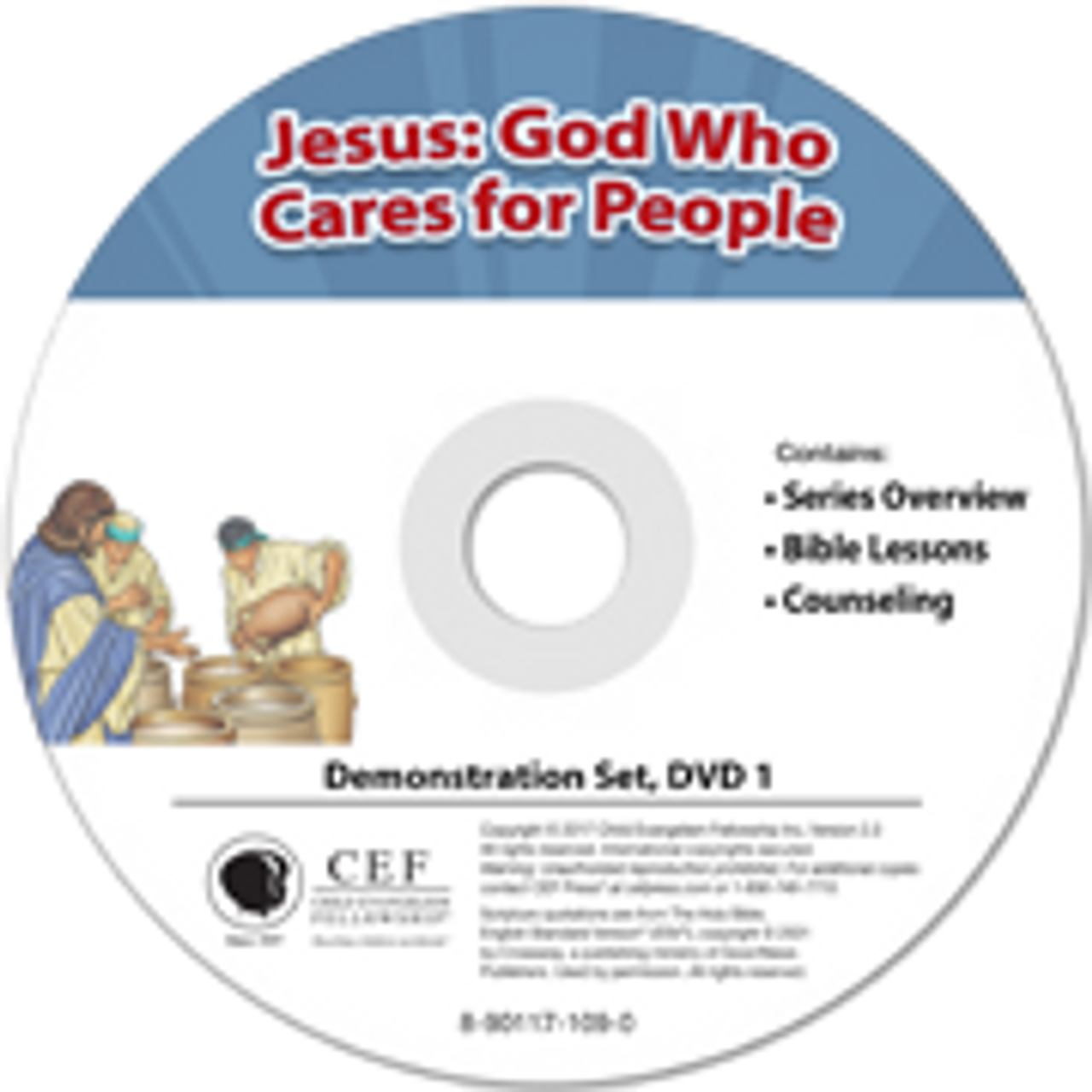 Jesus: God who cares for people 2017 (demo)