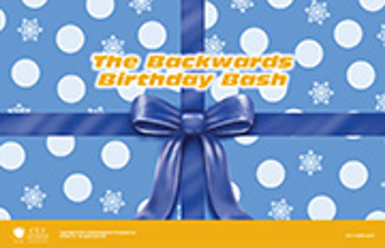 Backward Birthday Bash (Christmas Kit)