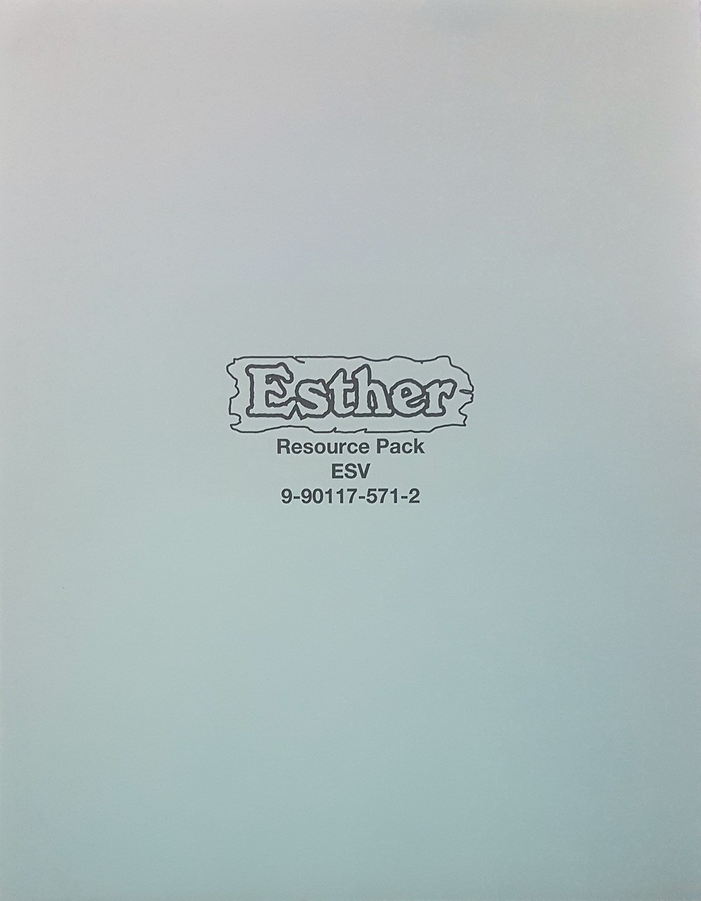 Esther (resource pack ESV) (while supplies last)