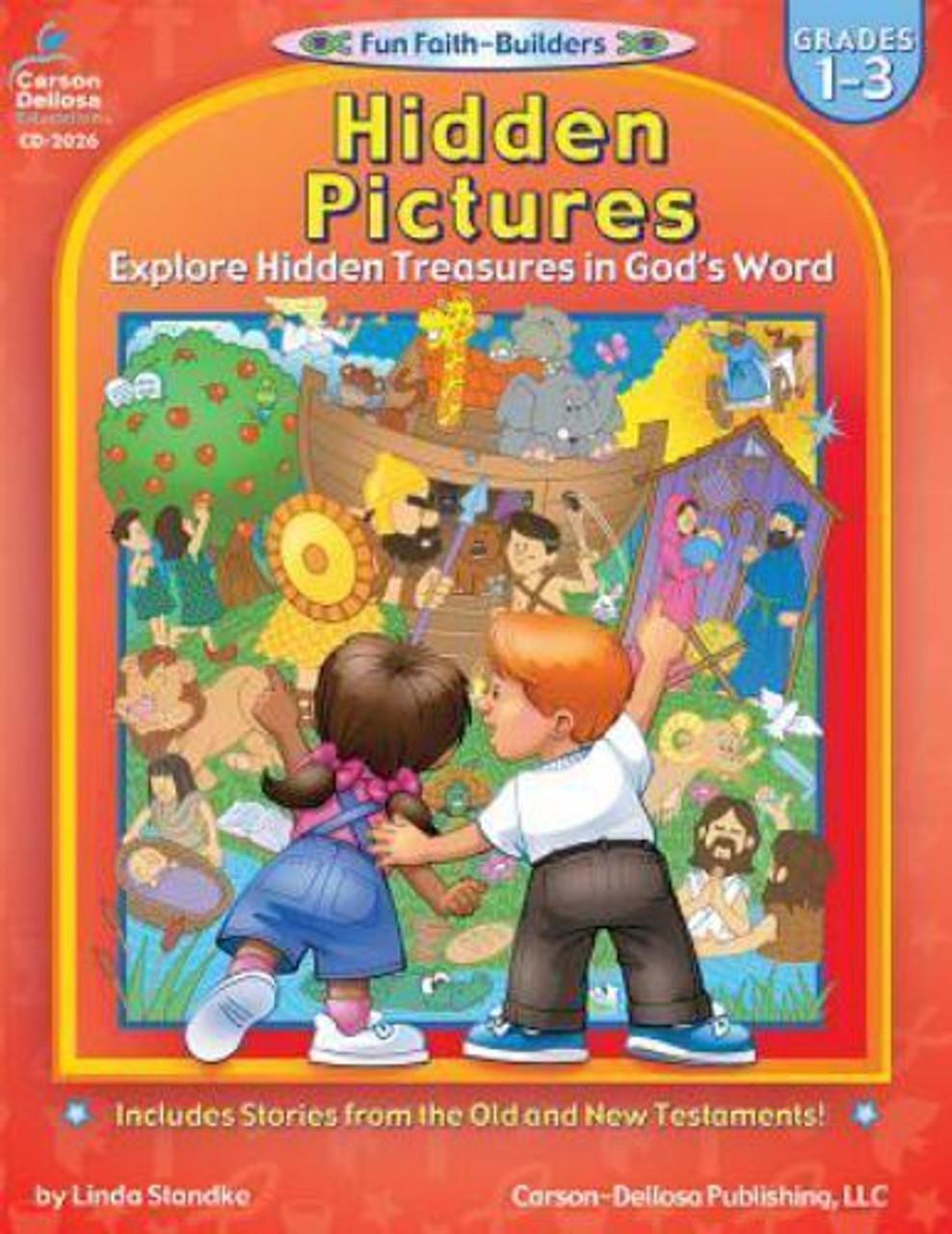Hidden Pictures Grades 1-3