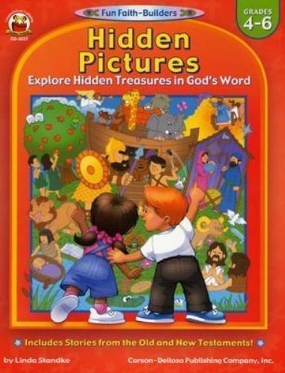 Hidden Pictures Grades 4-6