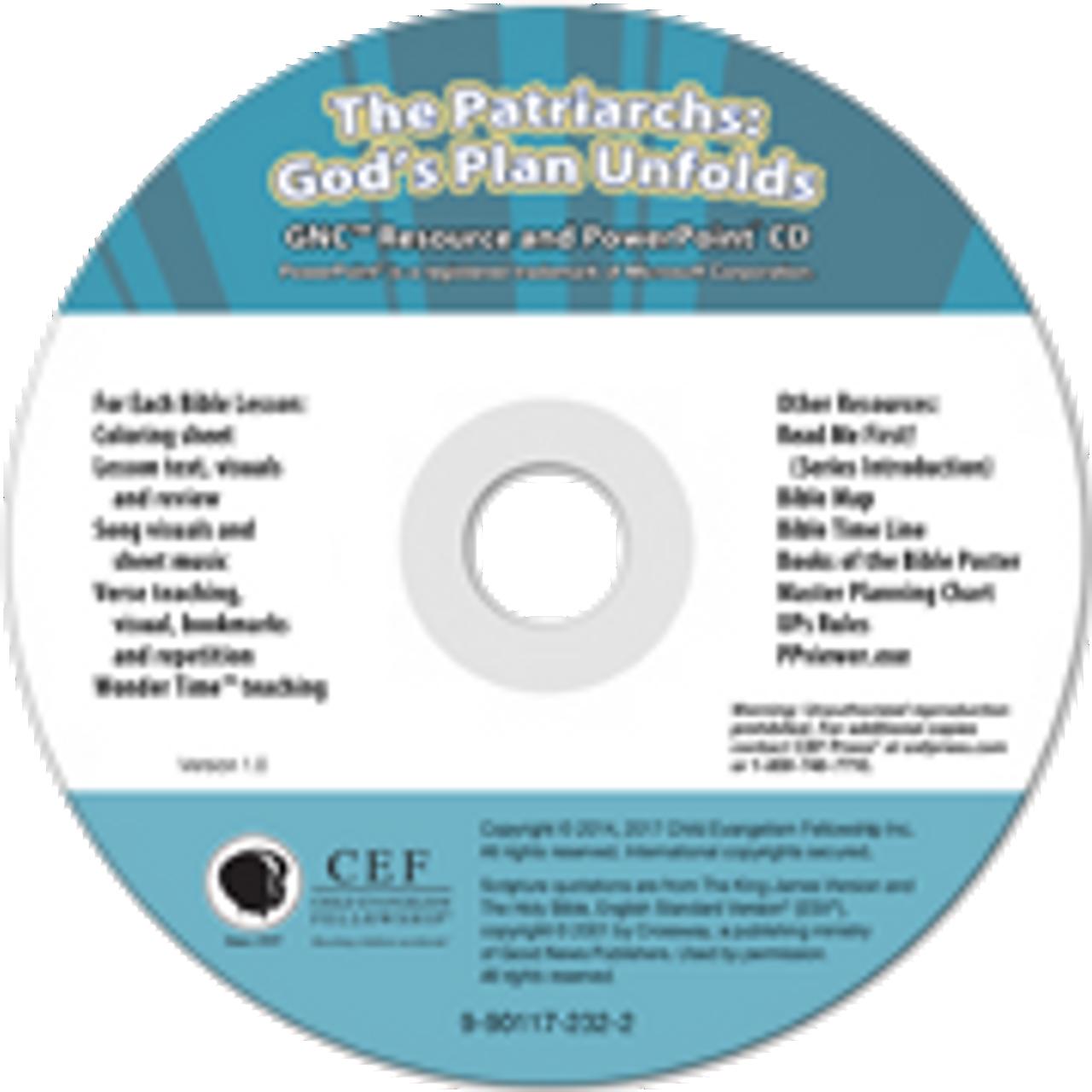 The Patriarchs: God's Plan Unfolds 2017 (PPT)