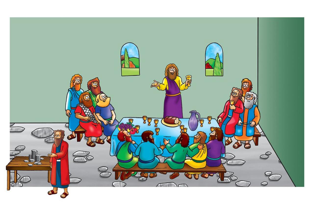 Last Supper - Beginners Bible (Pre-cut)