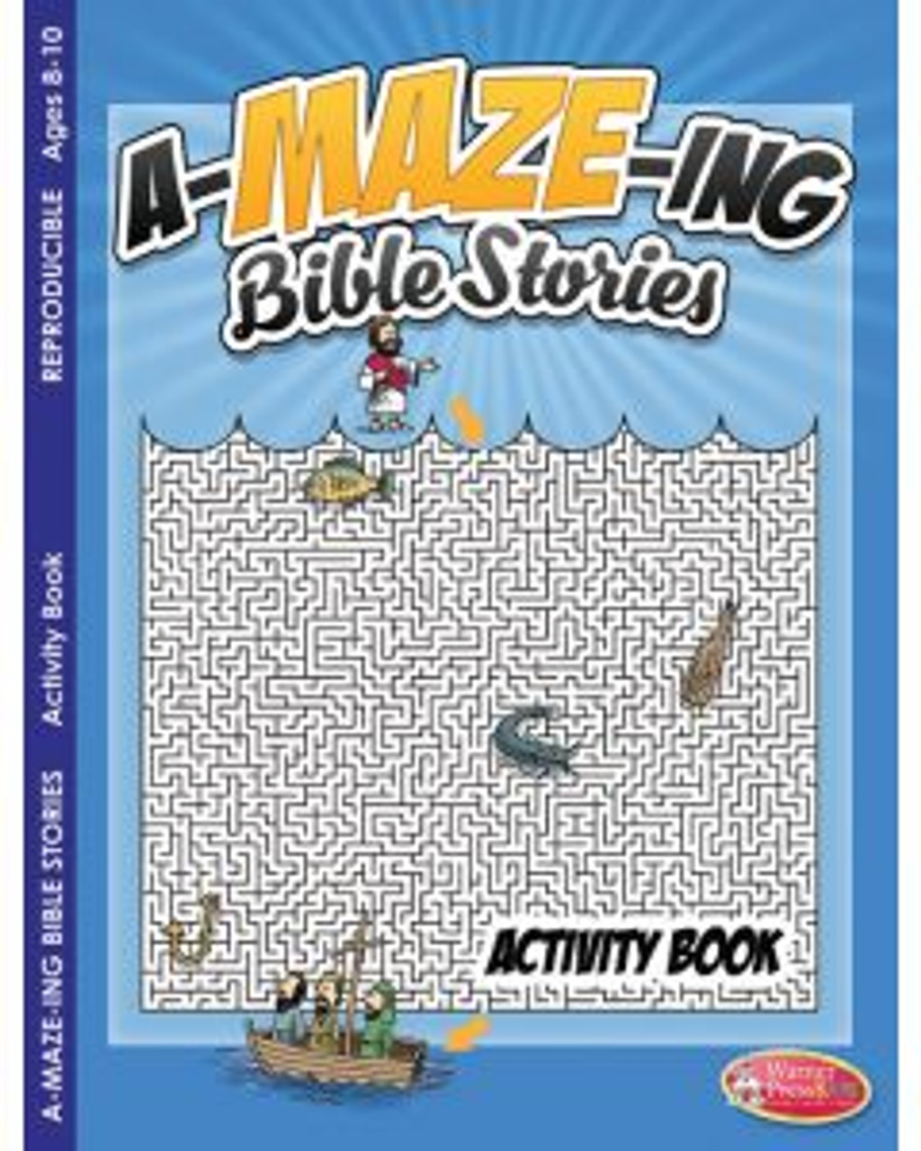 A-maze-ing Bible Stories (activity book)