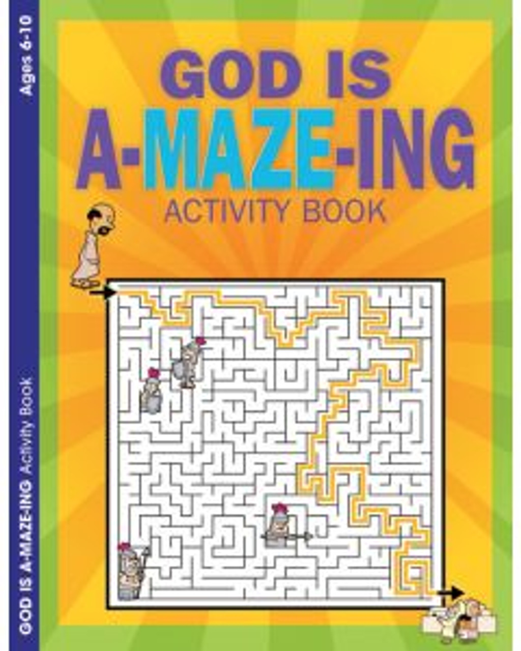 God is A-maze-ing (activity book)