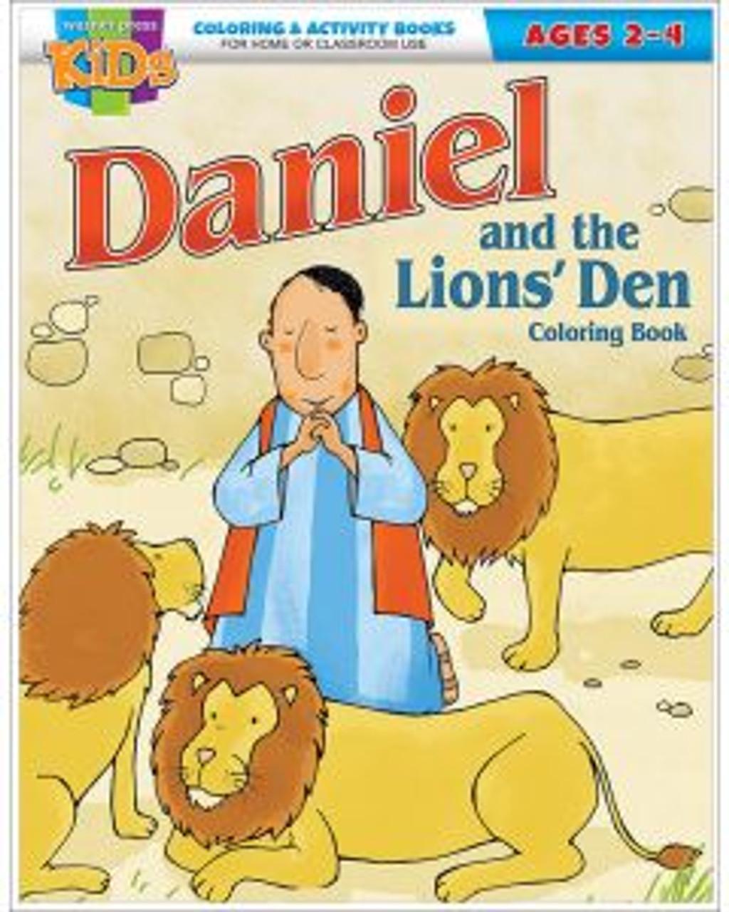 Daniel & The Lions Den (activity book)