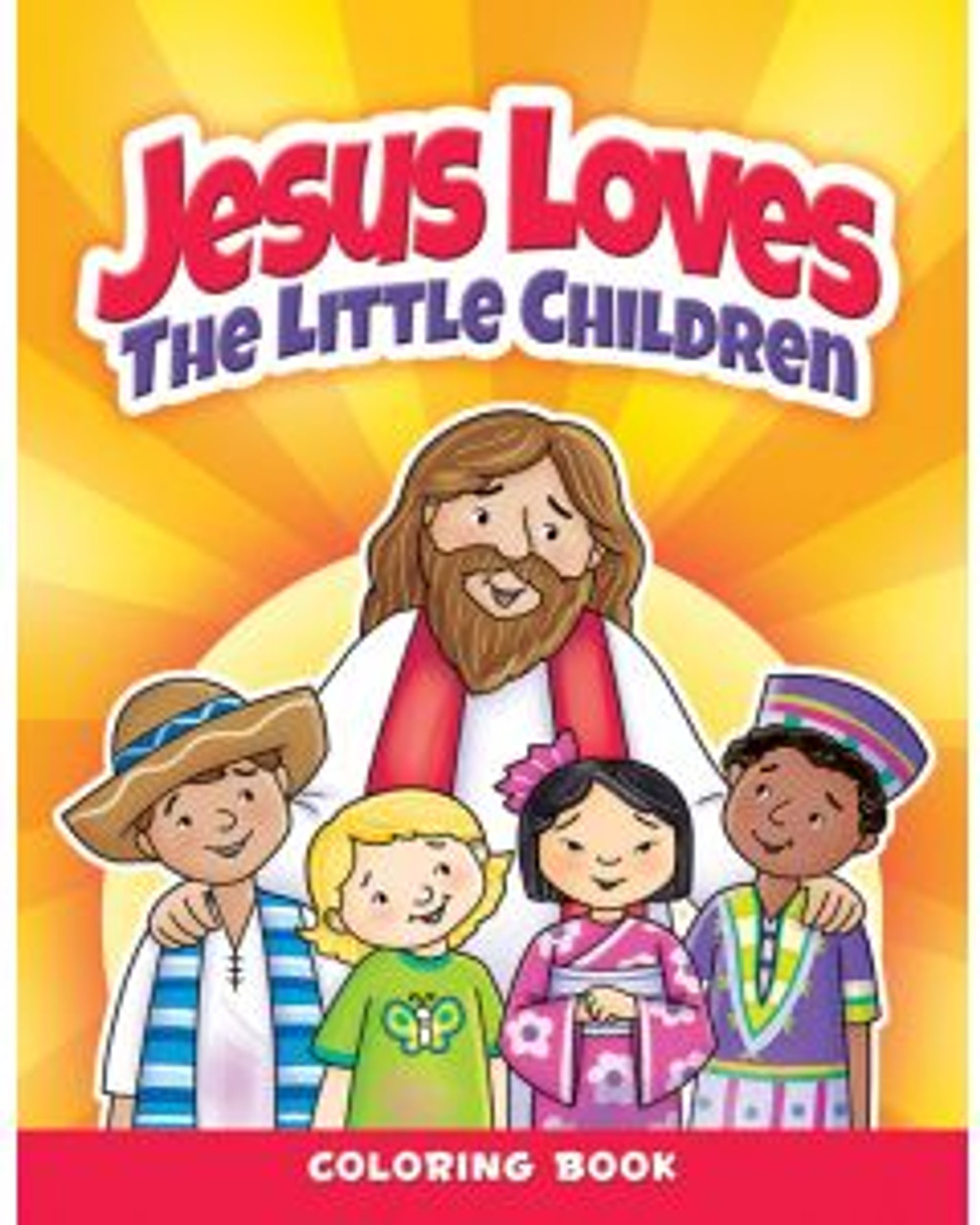 Jesus Loves The Little Children (coloring book)