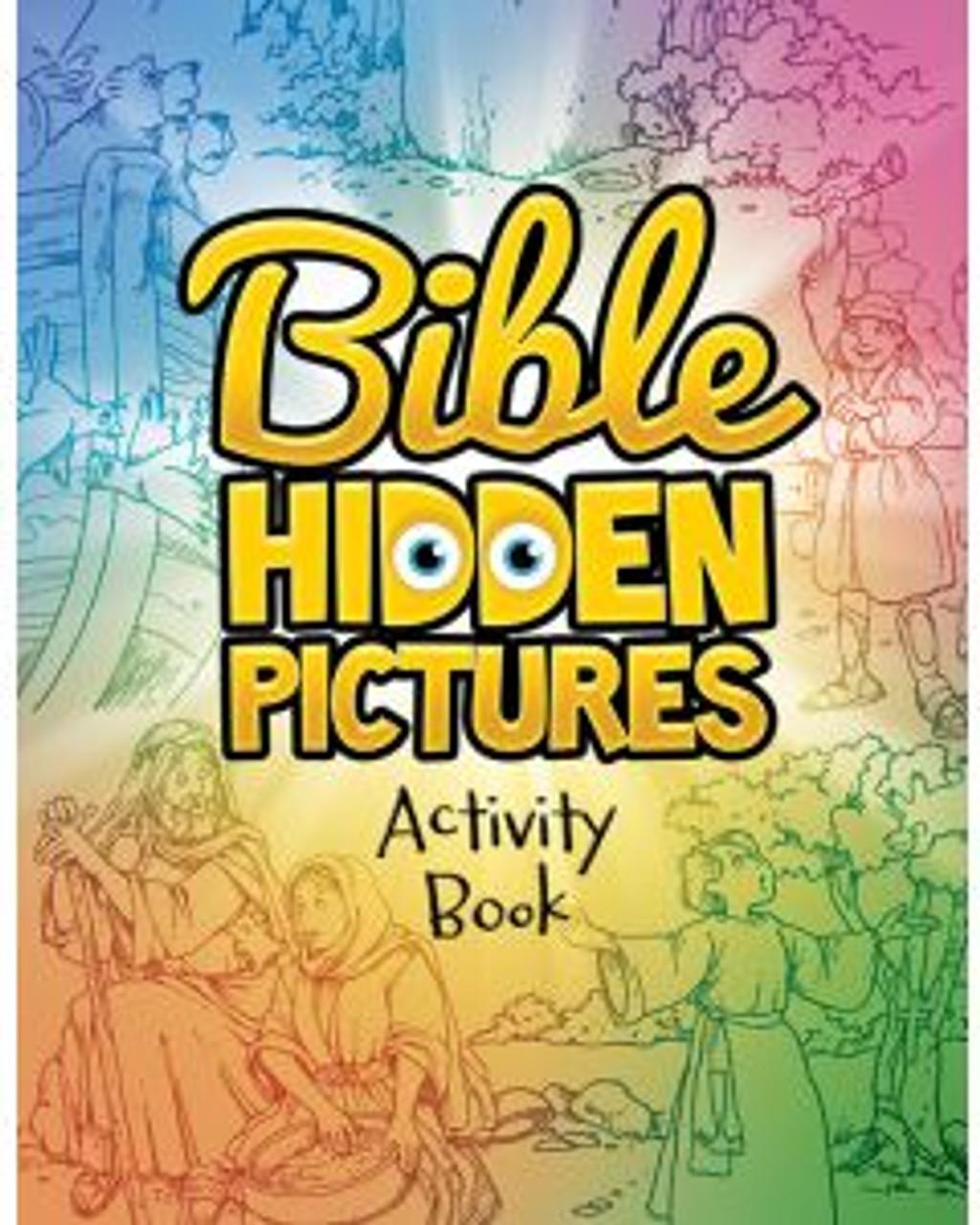 Bible Hidden Pictures (activity book)