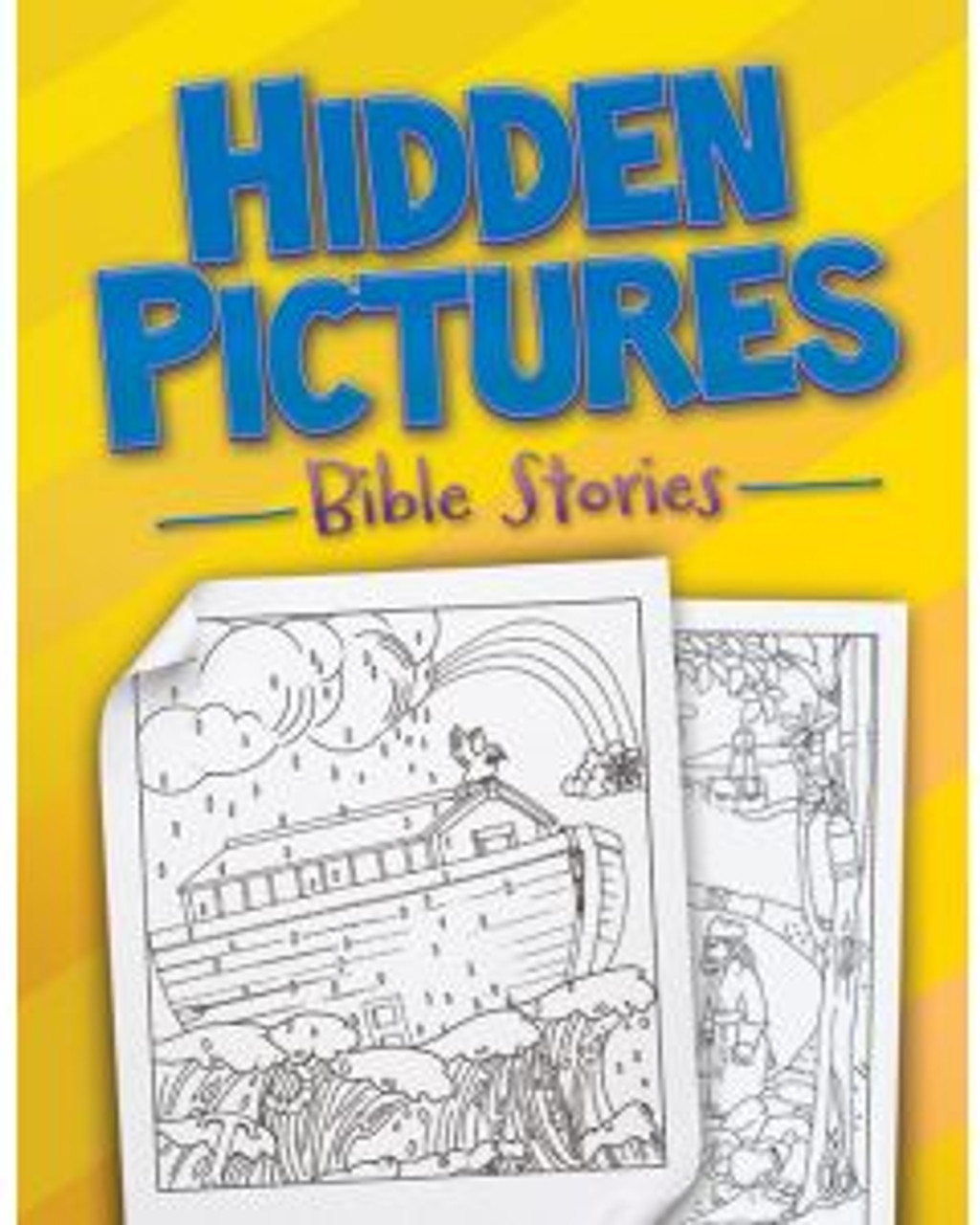 Hidden Pictures Bible Stories (activity book)