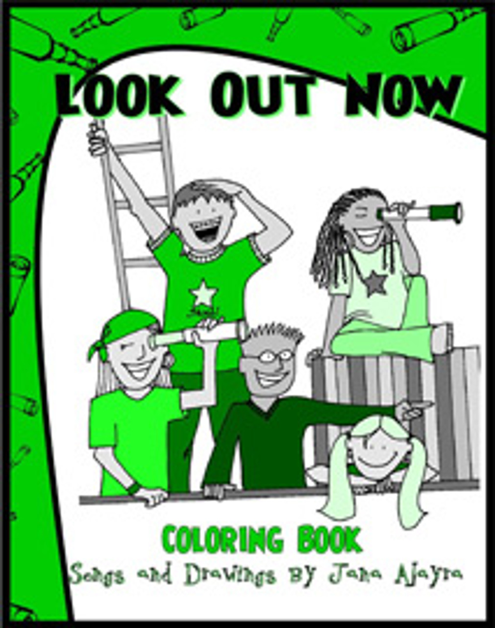Look Out Now (coloring book)