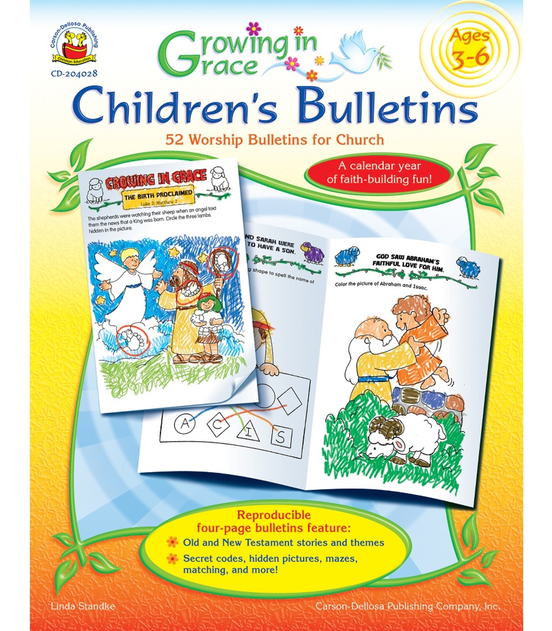 Growing in Grace Children's Bulletins