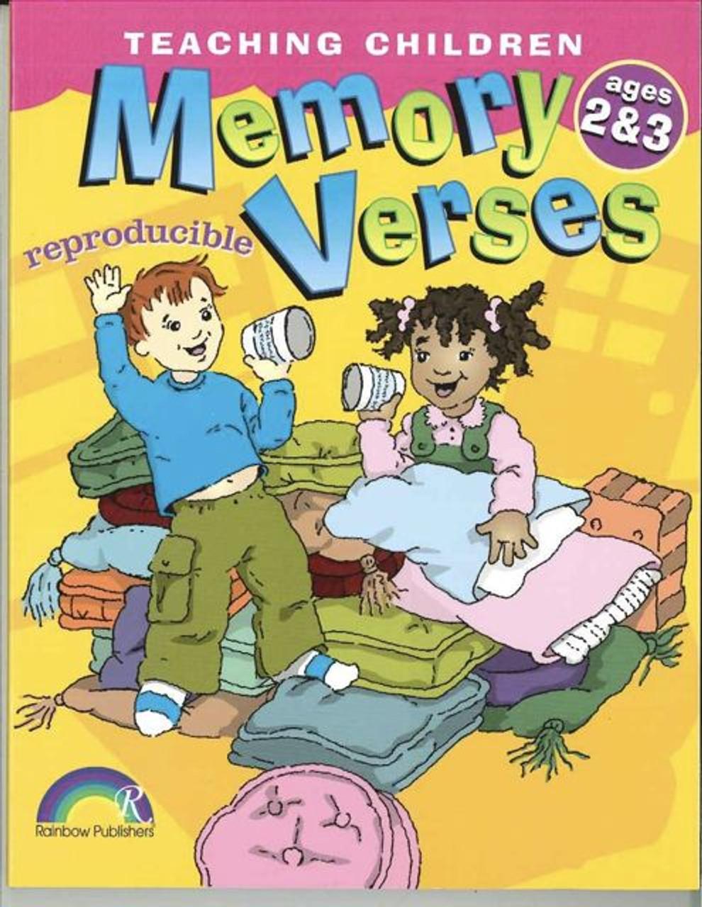 Teaching Children Memory Verses Ages 2&3