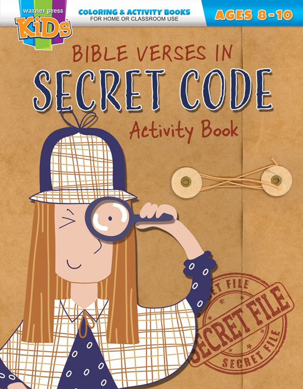Bible Verses in Secret Code (activity book)