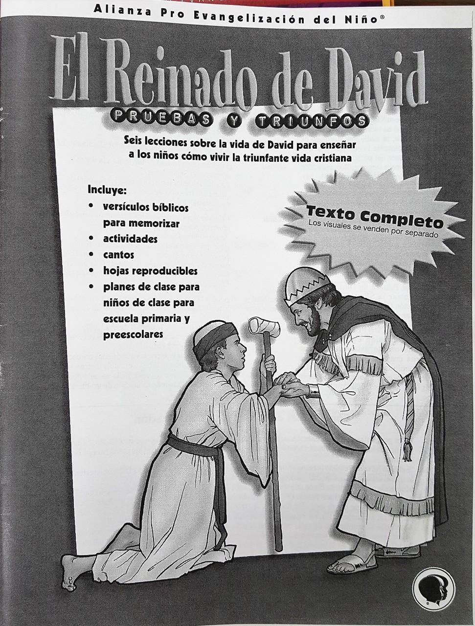 El Reinado de David Pruebas y Triunfos (libro de texto)