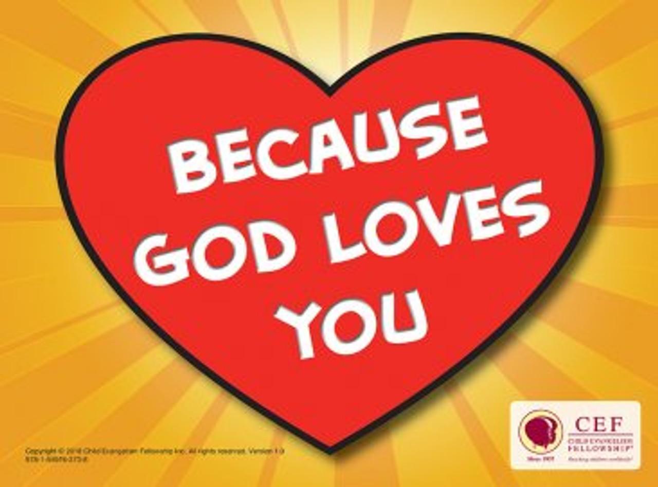 Because God Loves You (Easter Kit)