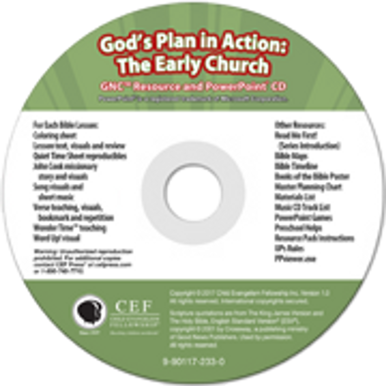 God's Plan in Action: The Early Church 2017 (PPT)