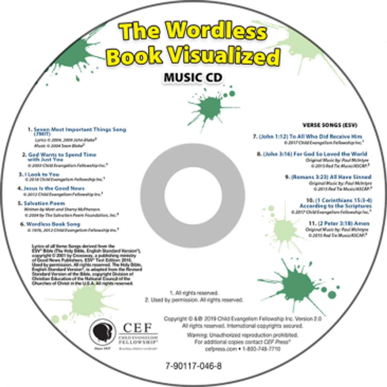 The Wordless Book Visualized 2019 (music CD)
