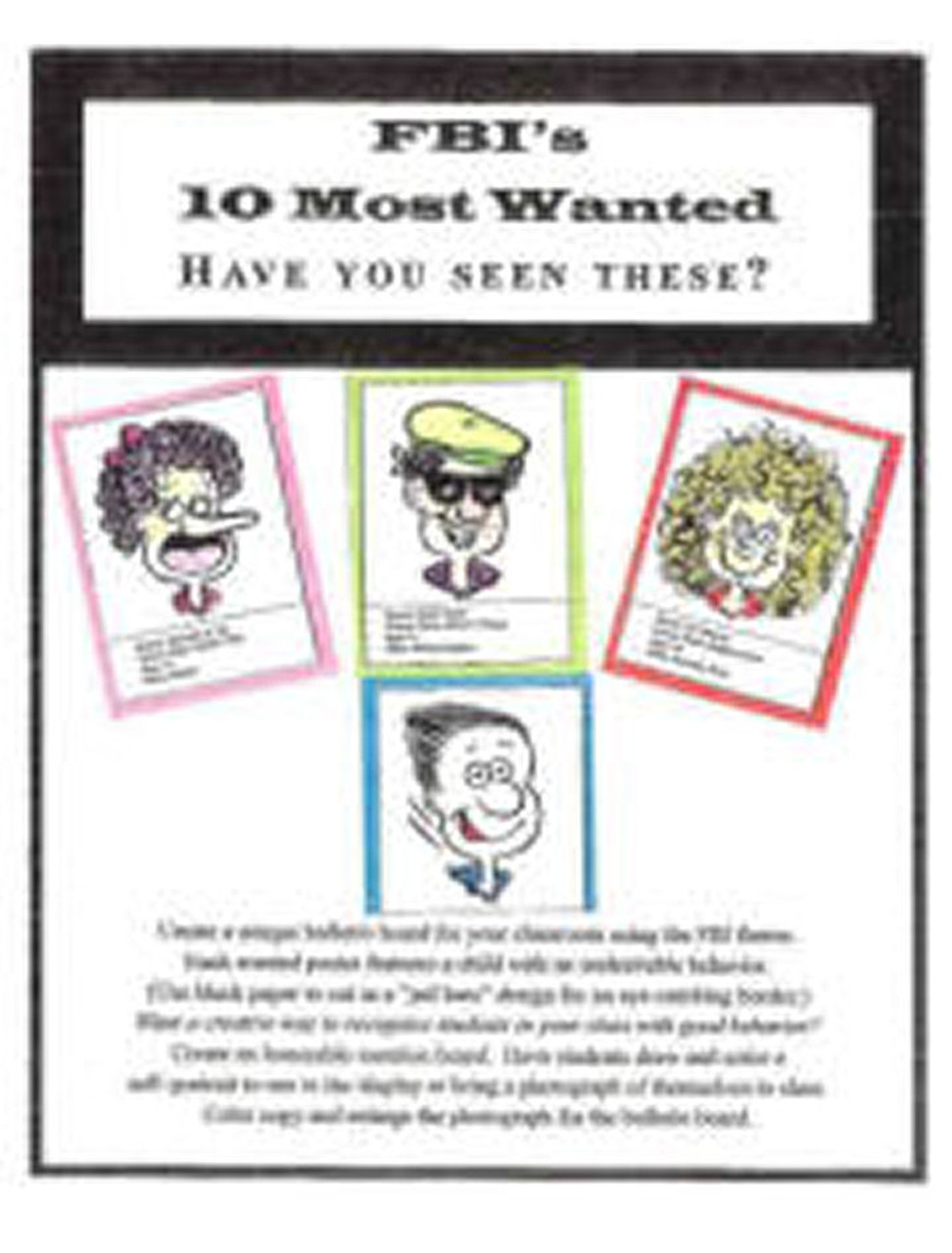 FBI's 10 Most Wanted (object story)