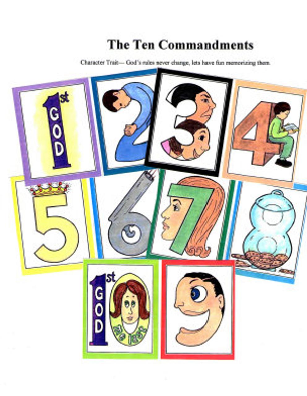 The Ten Commandments (object story)