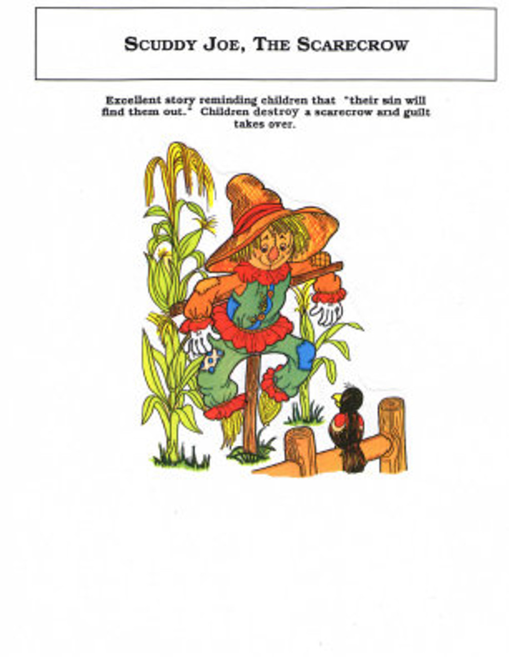 Scuddy Joe, The Scarecrow (object story)