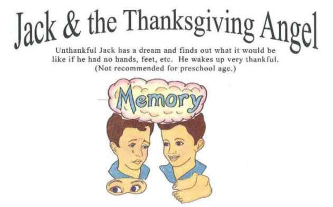 Jack and the Thanksgiving Angel (object story)
