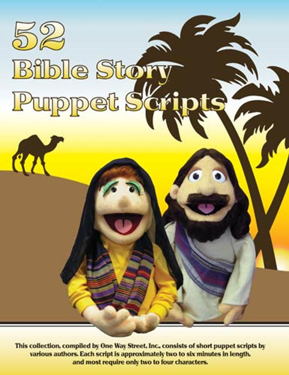 52 Bible Story Puppet Scripts