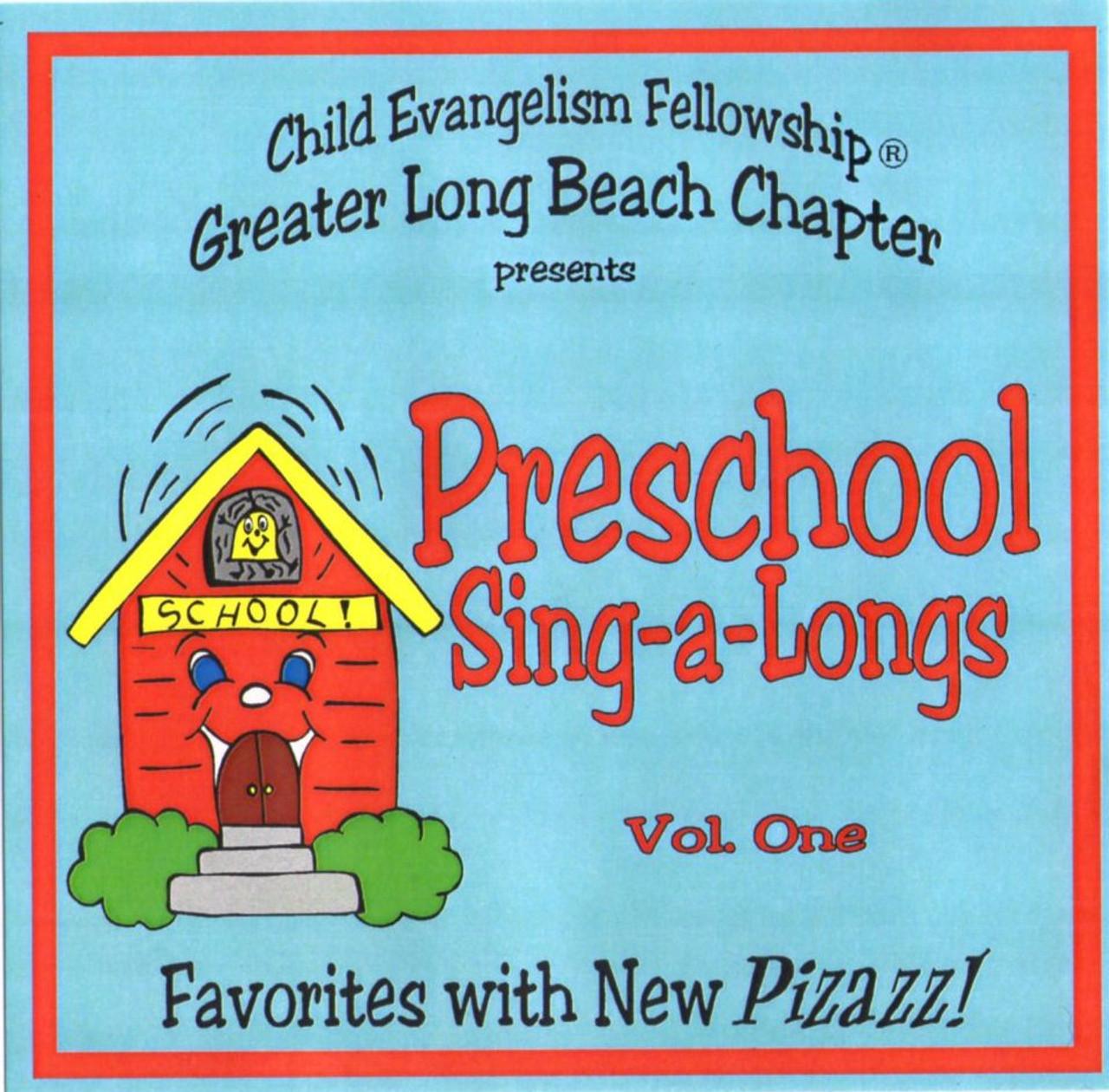 Preschool Sing-a-longs vol. 1 (music cd)