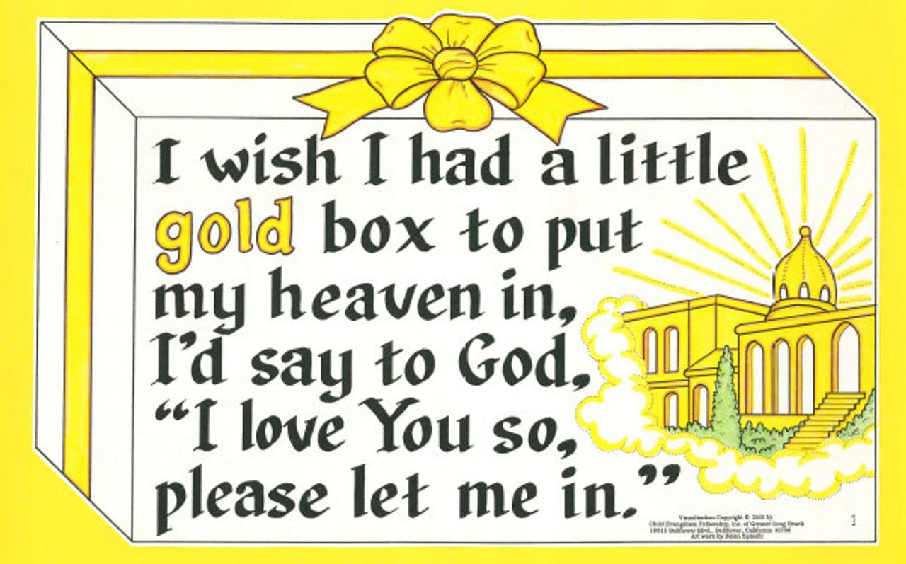 I Wish I Had A Box