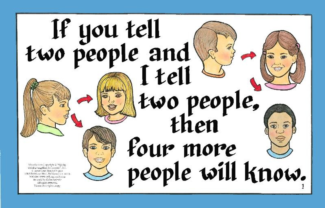 If You Tell Two People
