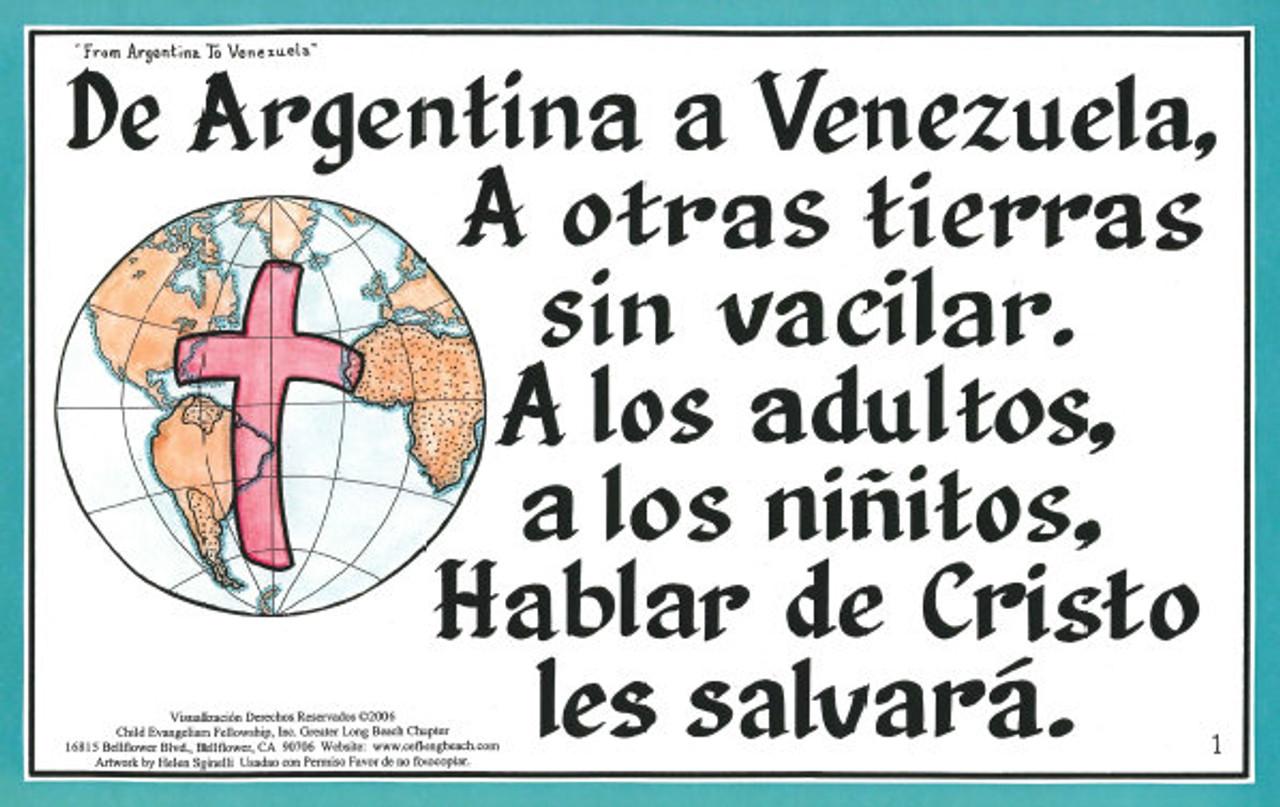 De Argentina a Venezuela (From Argentina to Venezuela)