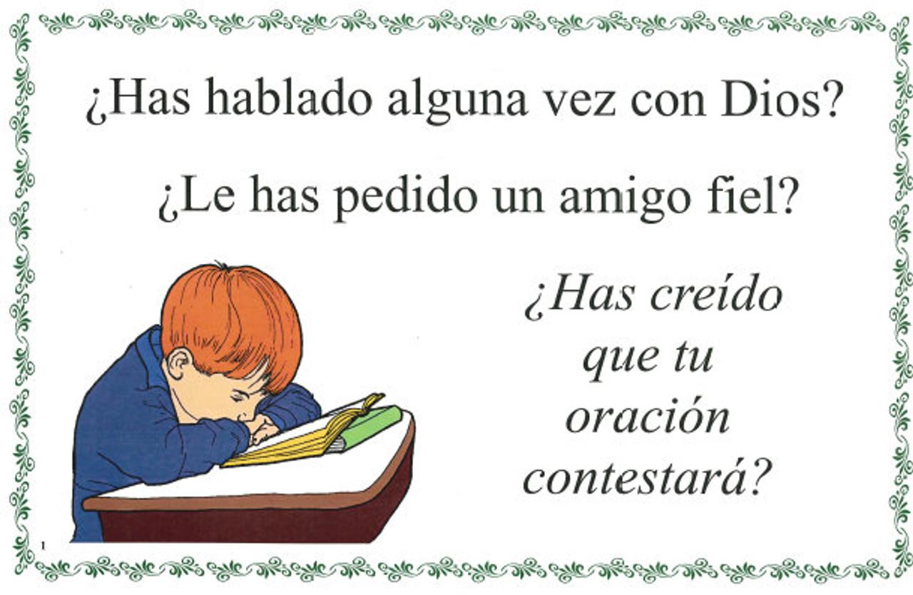 Has Hablado Alguna Vez con Dios (Did you ever Talk to God)