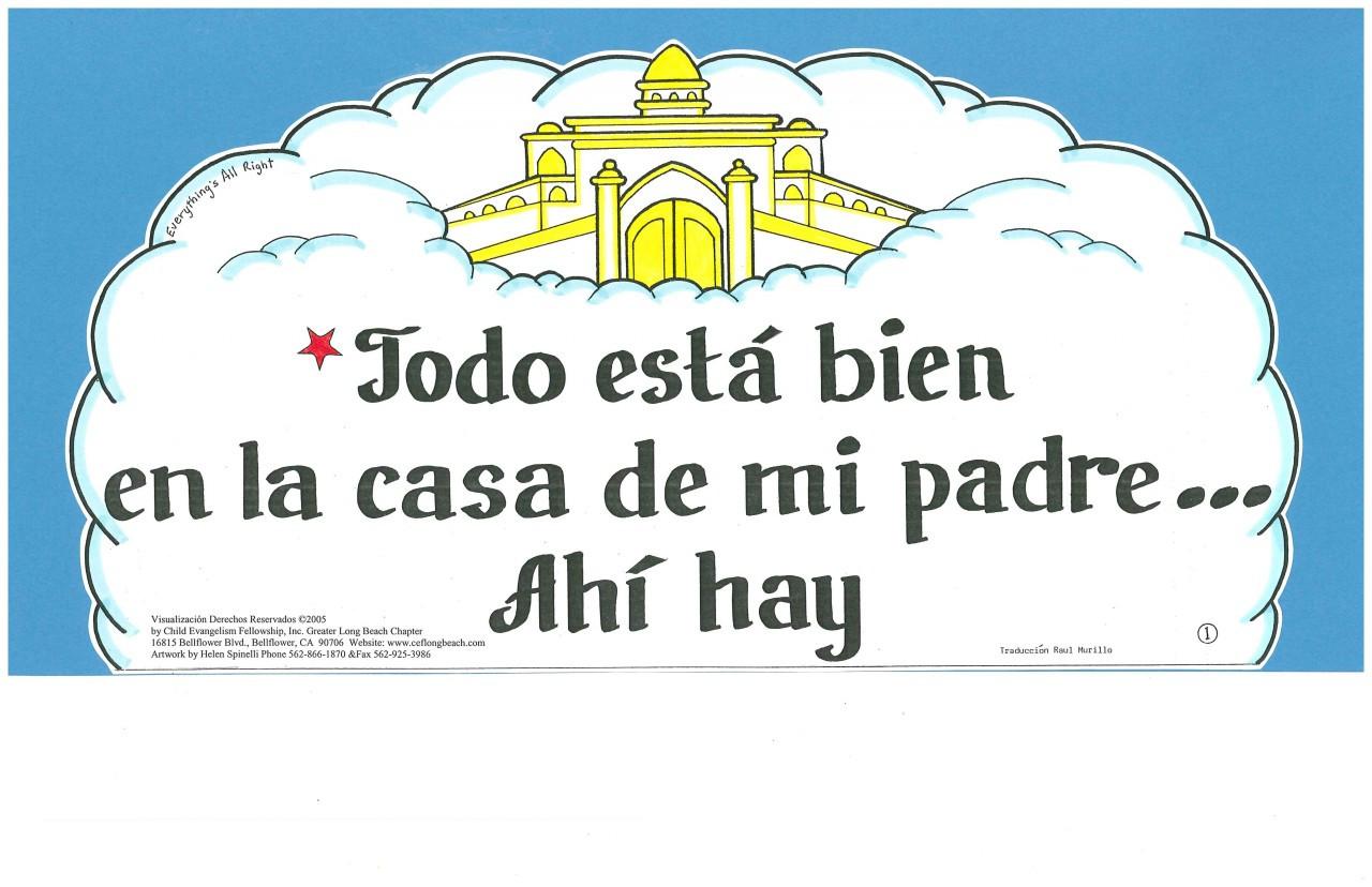 Todo esta bien (Everything's all right)