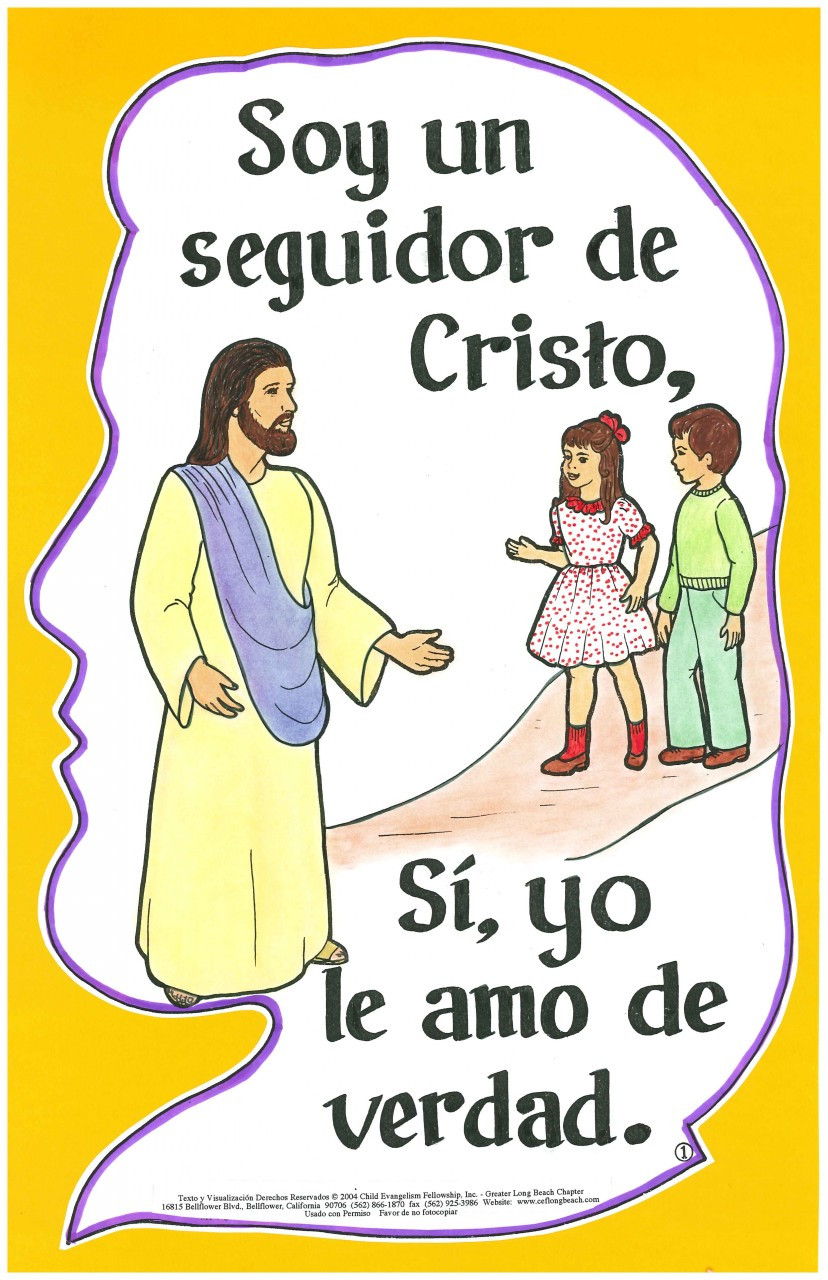 Soy un Seguidor de Cristo (I'm a Follower of Jesus)