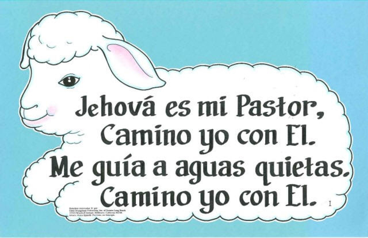 Jehová Es Mi Pastor (Lord is my shepherd)