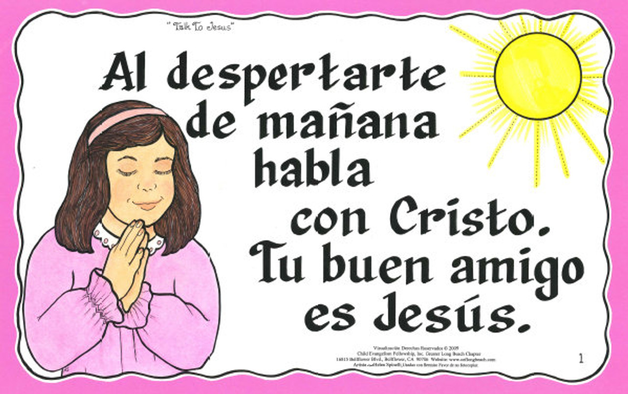 Habla Con Cristo (Talk to Jesus)