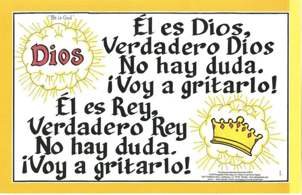 El es Dios (He Is God)