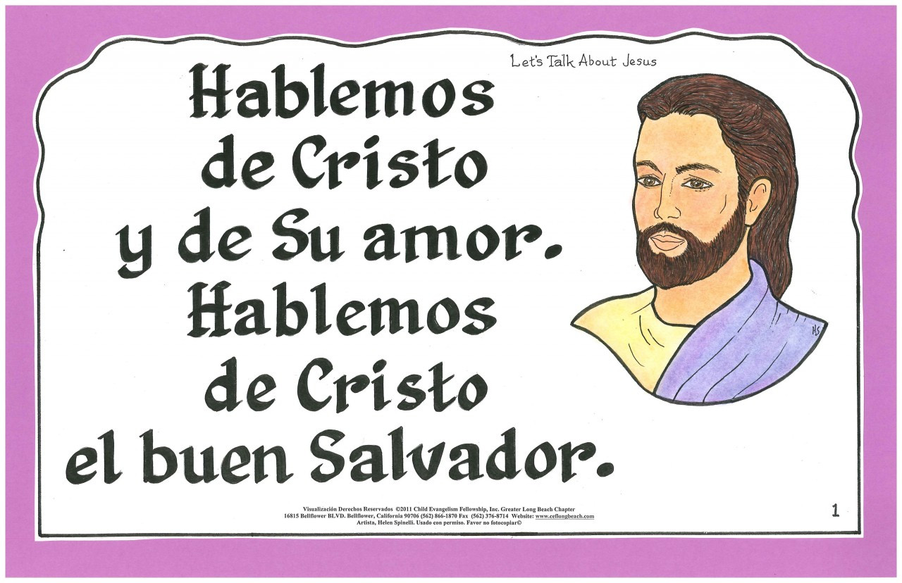 Hablemos de Cristo (Let's Talk About Jesus)