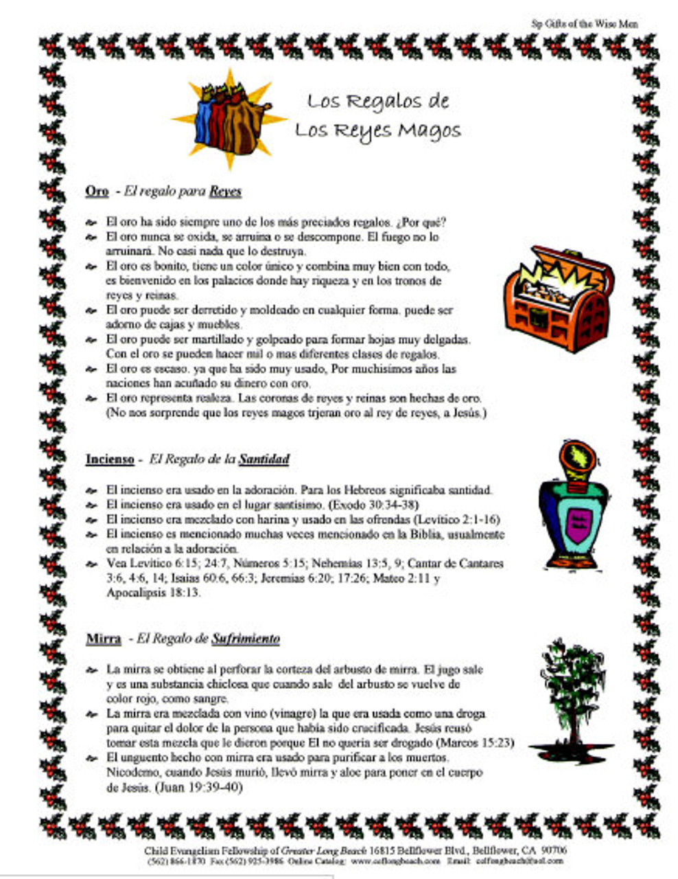 Los Regalos de Los Reyes Magos (Gifts of The Wisemen)