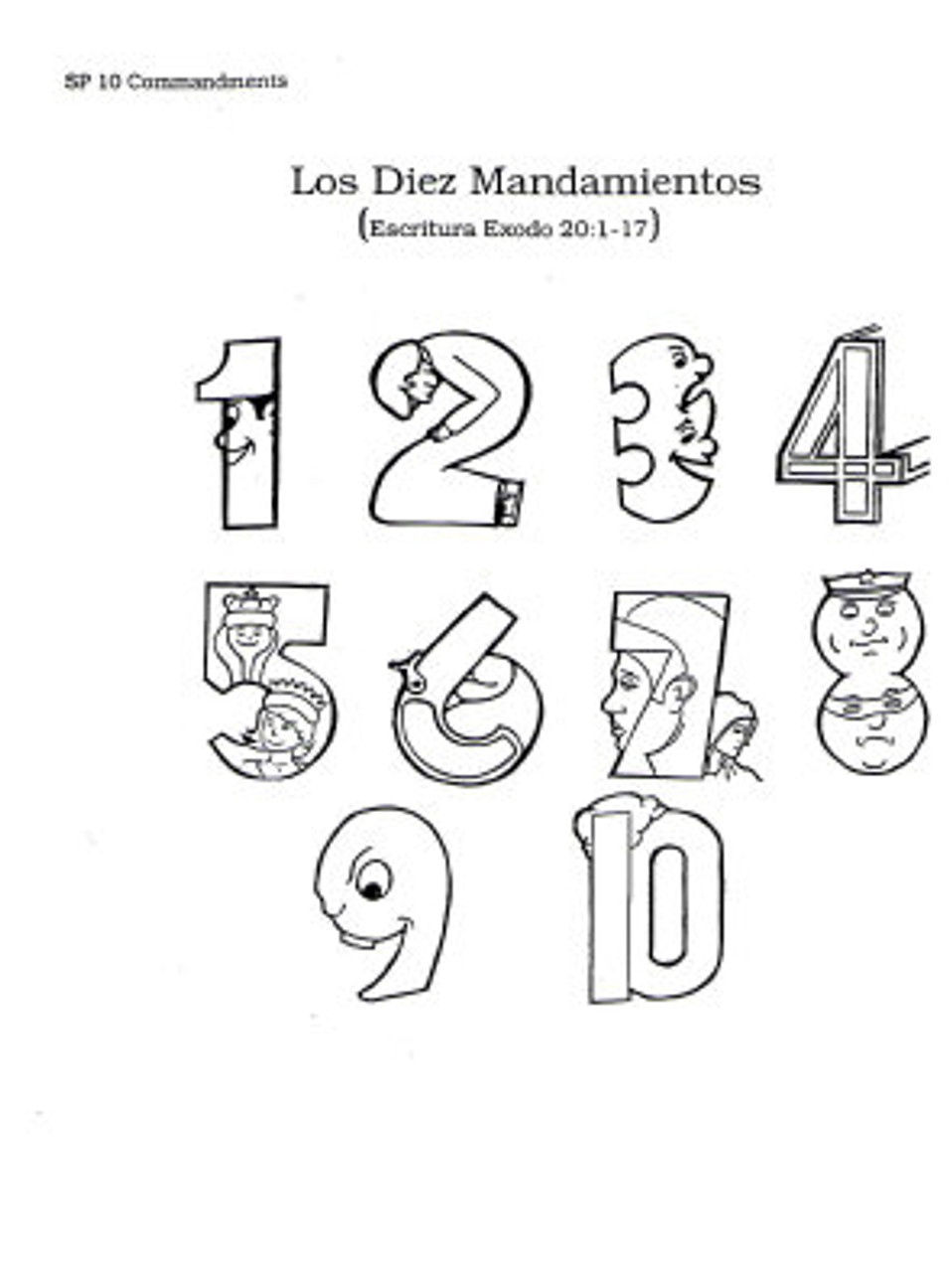 Los 10 Mandamientos (Ten Commandments)