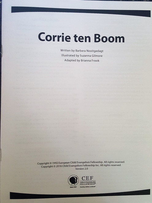Corrie Ten Boom (teachers manual)