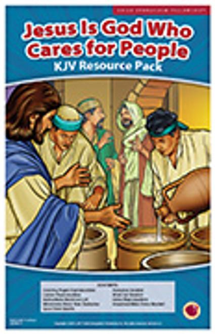 Jesus: God who cares for people 2017 (resource pack KJV)