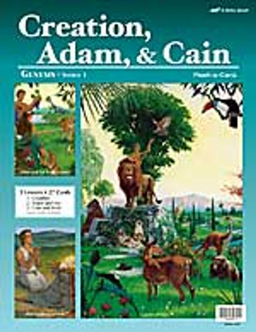 Creation, Adam and Cain (12x16)