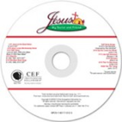Jesus, My Savior and Friend (music cd)