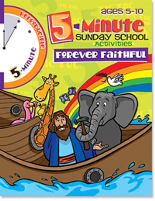5 Minute Sunday School Activities Forever Faithful