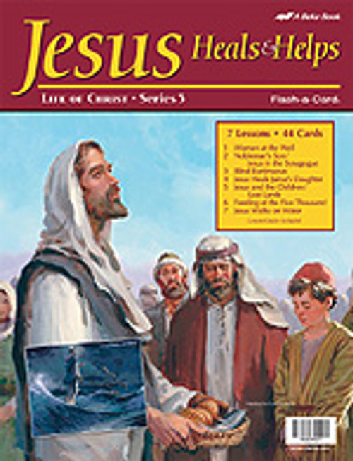Jesus, Heals and Helps (12x15.5)