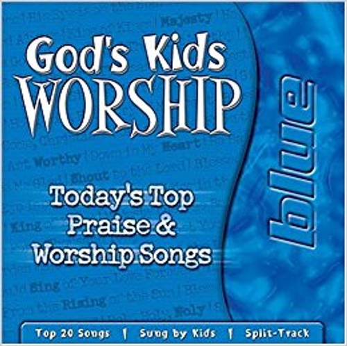 God's Kids Worship Blue