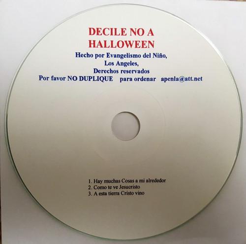 Decile No a Halloween (music cd)