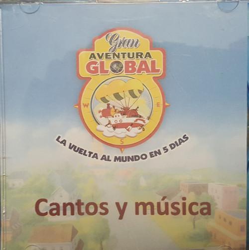 Gran Aventura Global (music cd)