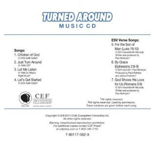 Turned Around (music cd)