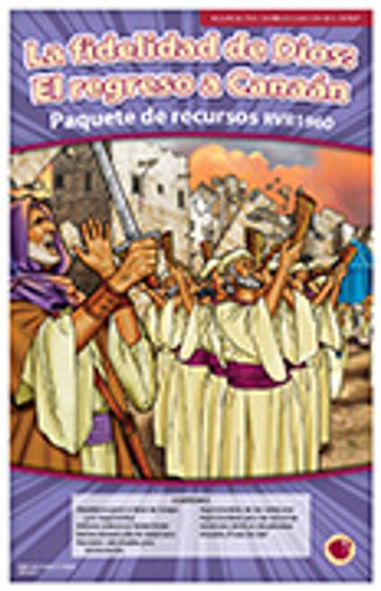 La fidelidad de Dios: El regreso a Canaan 2016 (paquete de recursos RVR 1960)